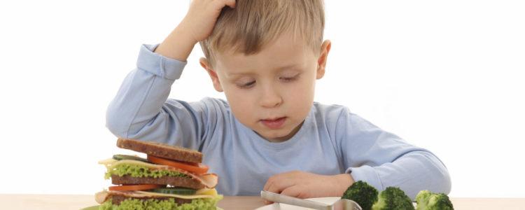 Problemas infantiles a la hora de comer
