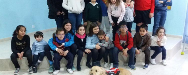 Terapia Asistida Canina en Aspanpal y Convenio de Colaboración